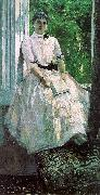 Konstantin Korovin Portrait of the Actress, Titiana Liubatovich oil painting artist